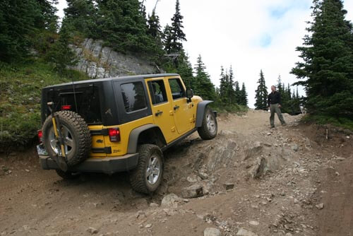 """Jeep JK Rubicon with 2"""" Zone lift"""