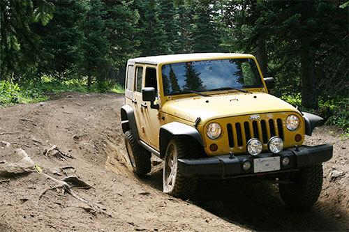 Zone lifted Jeep Wrangler JK