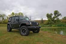 """Jeep JK w/ 3"""" lift kit"""