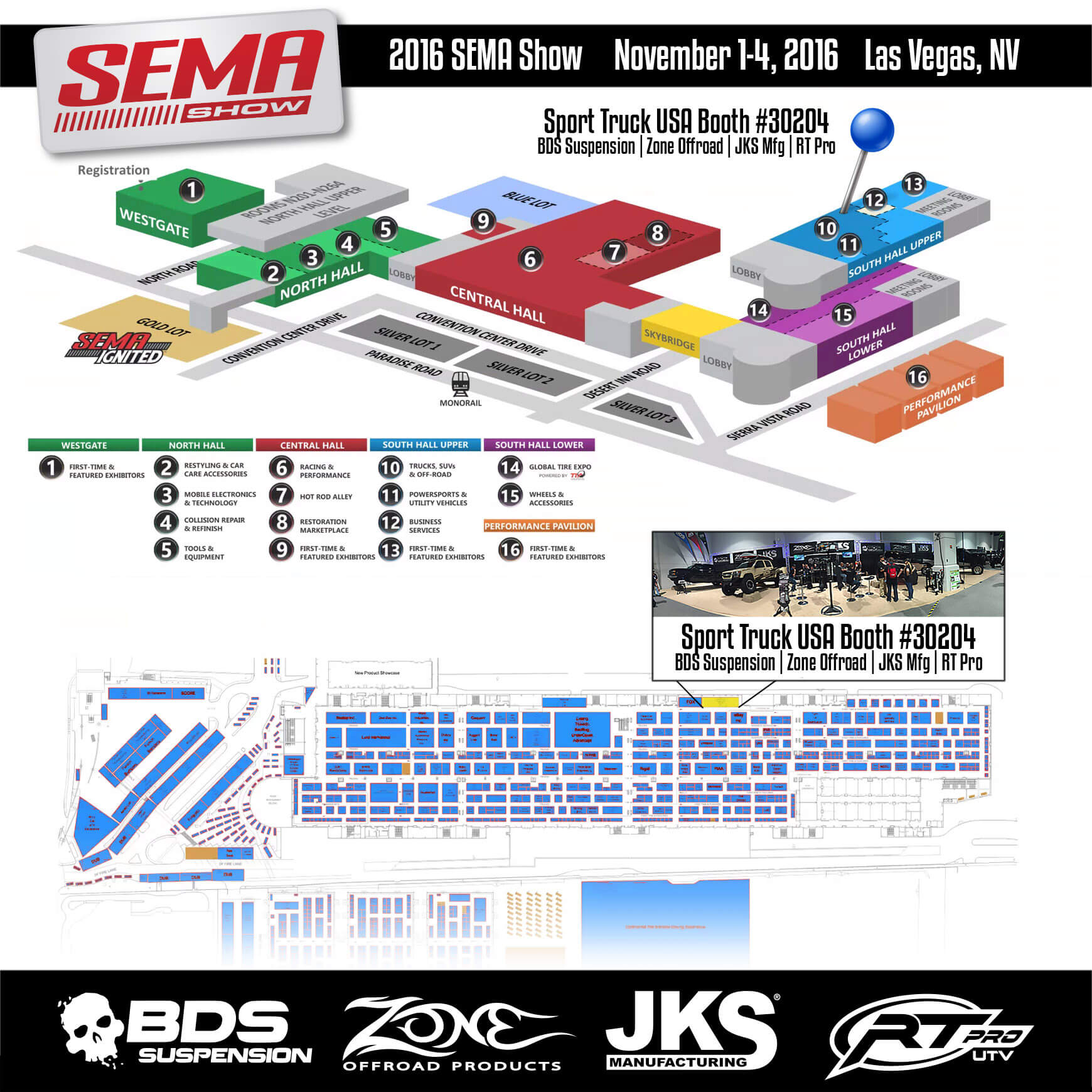 2016 SEMA Show | Sport Truck USA