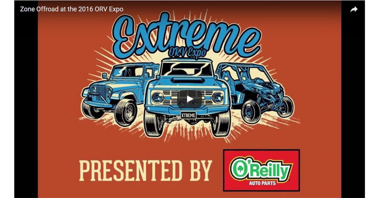Zone Offroad at the 2016 ORV Expo