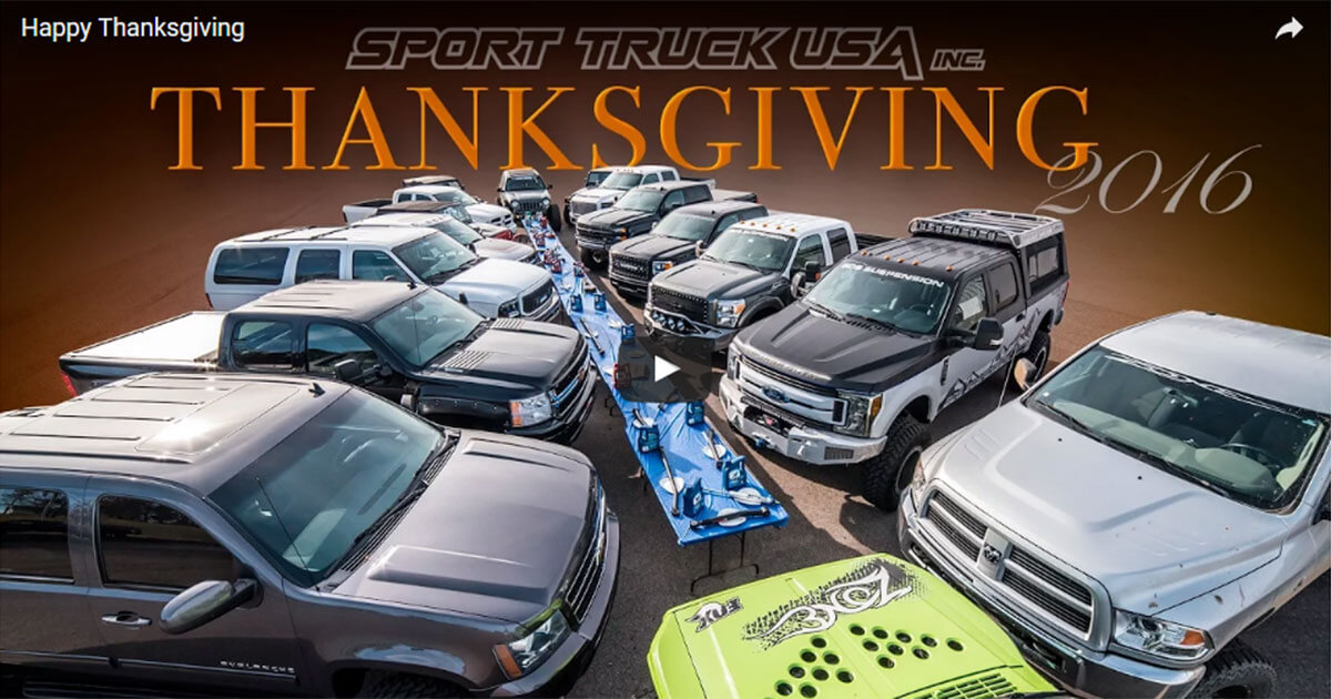 Happy Thanksgiving from Zone Offroad Products