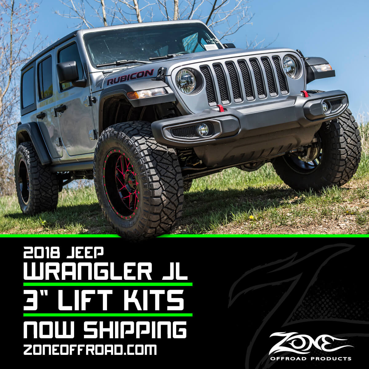 Zone Offroad New Product Announcement 145 Zone 3 Lift Kits For